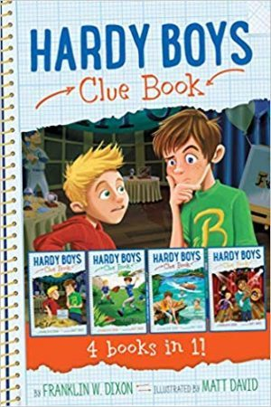 The Hardy Boys are: The Clues Brothers